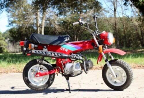 1993 Honda Honda CT Red for sale craigslist
