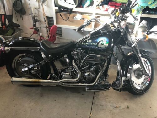 1994 Harley-Davidson Fat boy Black photo