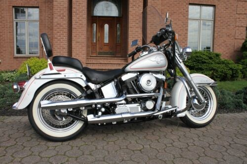 1994 Harley-Davidson Softail White with Silver accent photo