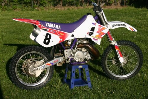 1994 Yamaha YZ Yellow photo