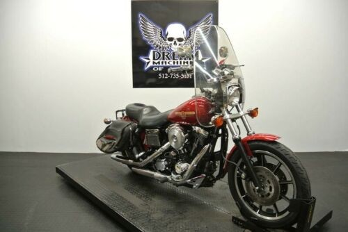 1995 Harley-Davidson FXDS – Dyna Glide Convertible — Red for sale