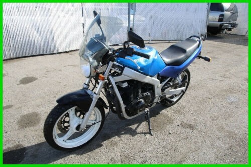 1995 Suzuki GS 500F Blue photo