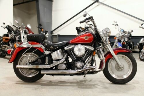 1996 Harley-Davidson Softail Red/Purple photo