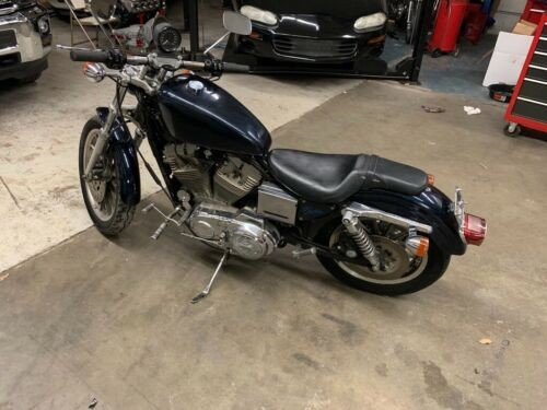 1996 Harley-Davidson Sportster Blue photo