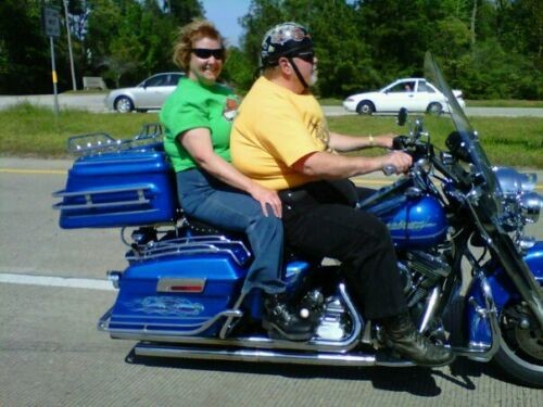 1996 Harley-Davidson Touring STATES PEARL BLUE photo