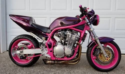 1996 Suzuki Bandit 600 Purple Flake photo