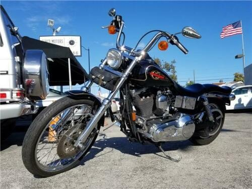 1997 Harley-Davidson Dyna Super Glide Wide FXDWG Black for sale craigslist