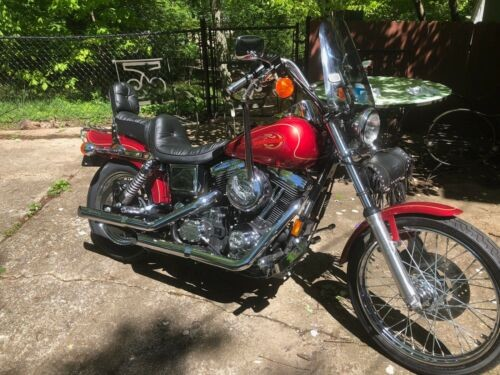 1997 Harley-Davidson Dyna Silver photo
