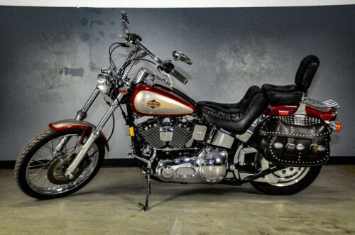 1997 Harley-Davidson Softail Burgundy photo