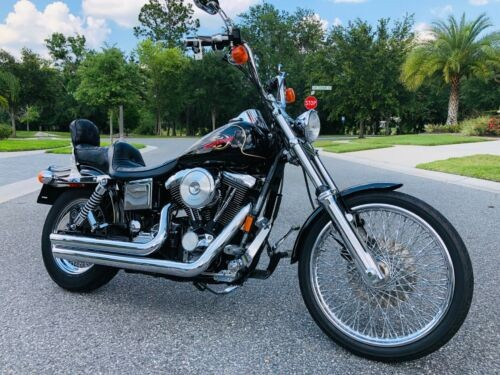 1998 Harley-Davidson Dyna Black photo