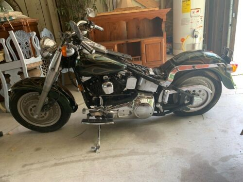 1998 Harley-Davidson FatBoy Green photo
