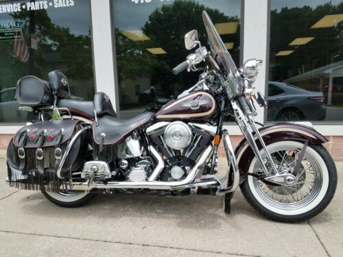 1998 Harley-Davidson Softail HERITAGE SPRINGER Burgundy photo