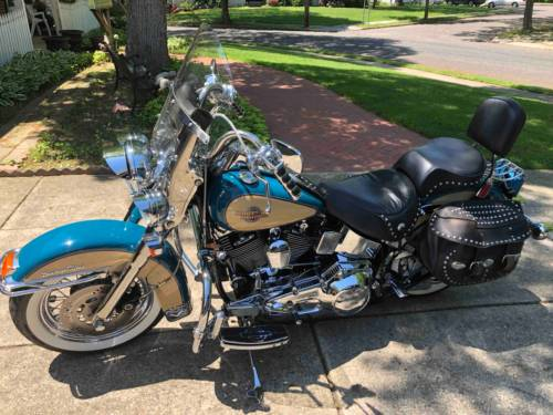 1998 Harley-Davidson Softail Teal photo