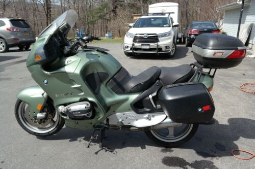 1999 BMW R1100RT Green photo