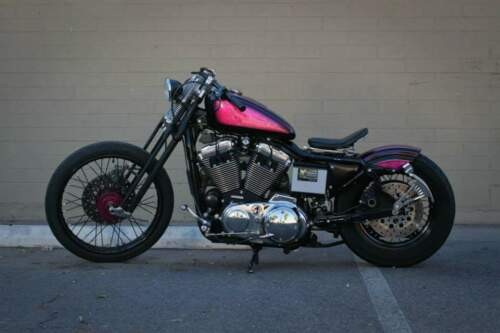 1999 Harley-Davidson 1200XLC Hot Pink and Black photo
