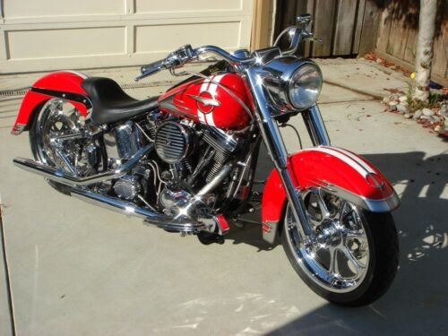 1999 Harley-Davidson Softail Red photo