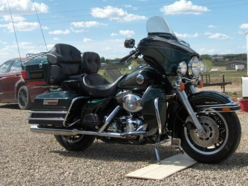 1999 Harley-Davidson Touring Emerald green and black photo