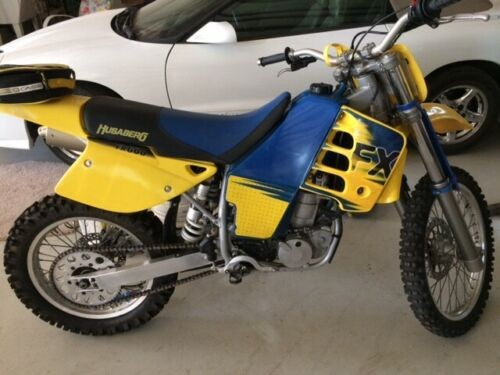 1999 Husaberg FX600 Yellow photo