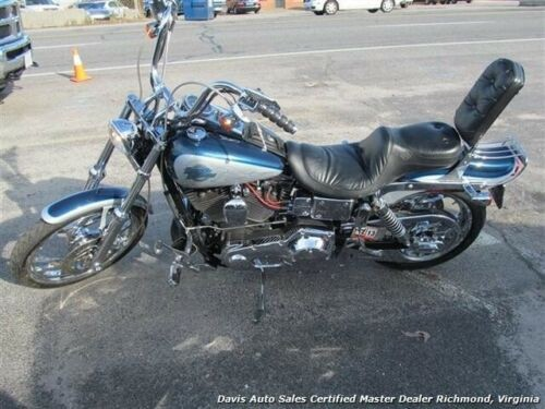 2000 Harley-Davidson Dyna Dyna Wide Glide FXDWG Blue for sale