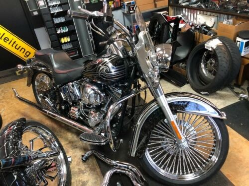 2000 Harley-Davidson Softail Custom Painted craigslist