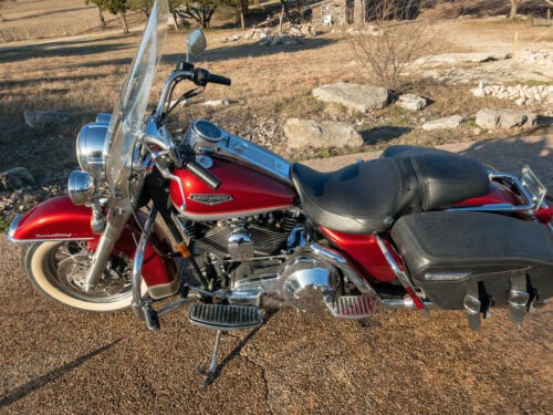 2000 Harley-Davidson Touring Aztec Orange/Diamond Ice Pearl photo