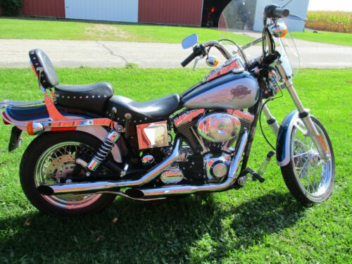 2001 Harley-Davidson Dyna Blue for sale
