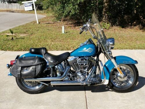 2001 Harley-Davidson Softail Real Teal photo
