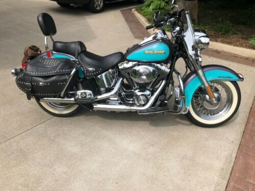 2001 Harley-Davidson Softail Teal photo