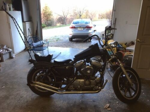 2001 Harley-Davidson Sportster Black photo