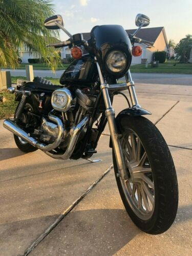 2001 Harley-Davidson Sportster Blue photo