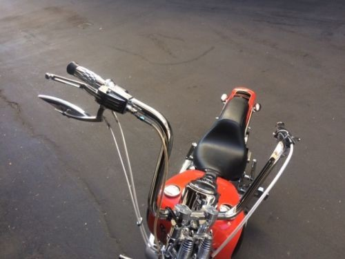 2001 Harley-Davidson Spring Softail Orange for sale craigslist