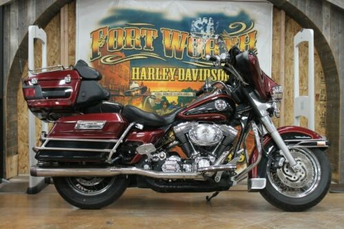 2001 Harley-Davidson Touring Luxury Rich Red photo