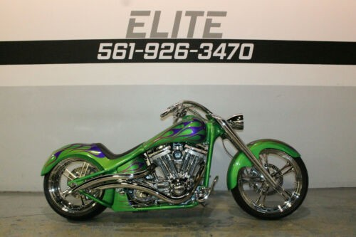 2002 Harley-Davidson Custom Fatboy Green photo