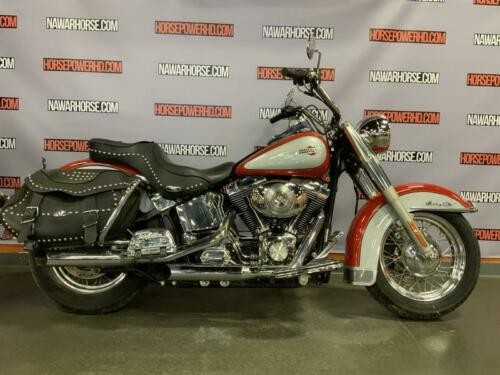2002 Harley-Davidson FLSTC - Heritage Softail® Classic -- Red photo
