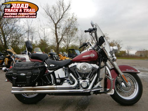 2002 Harley-Davidson FLSTCI – Heritage Softail® Classic Injection — Maroon for sale craigslist