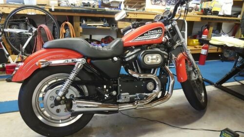 2002 Harley-Davidson Sportster Orange for sale craigslist