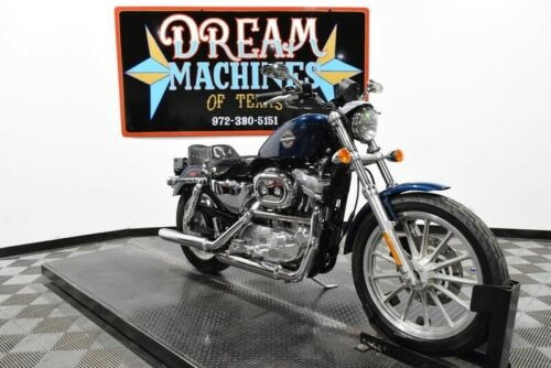 2002 Harley-Davidson XL883 - Sportster 883 -- Blue photo