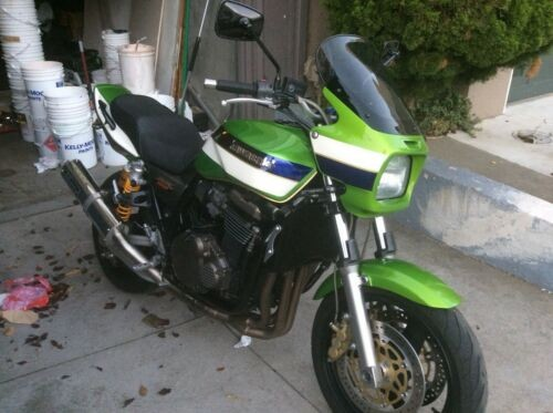 2002 Kawasaki Kawasaki ZRX 1200 r Green for sale craigslist