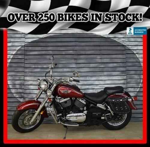 2002 Kawasaki Vulcan Classic Red photo