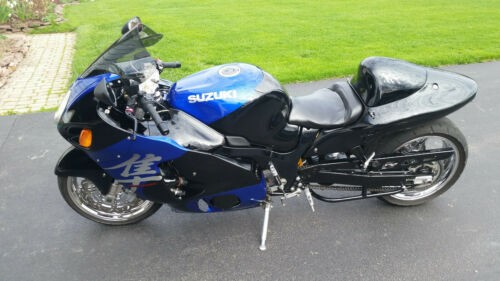 2002 Suzuki Hayabusa Blue photo