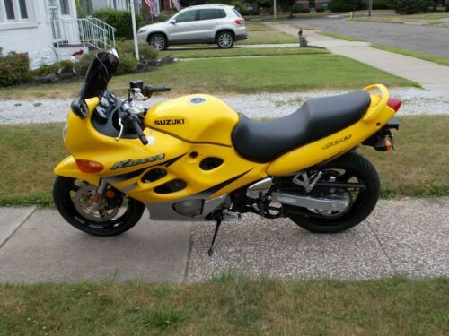 2002 Suzuki Katana Yellow photo