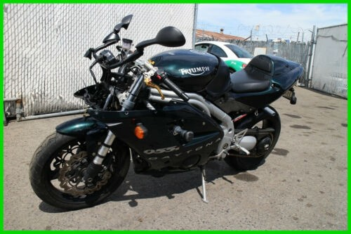 2002 Triumph Daytona 955i Green for sale craigslist