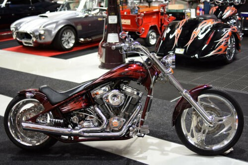 2003 American Ironhorse TEJAS 107 CI CUSTOM PAINT POLISHED WHEELS Red for sale craigslist