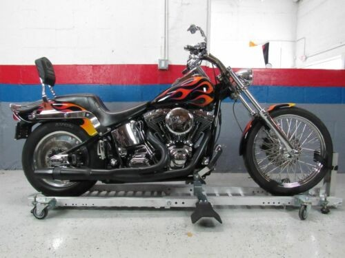 2003 Custom Built Motorcycles Bobber Black photo