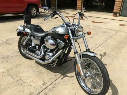 2003 Harley-Davidson Dyna Black Silver photo
