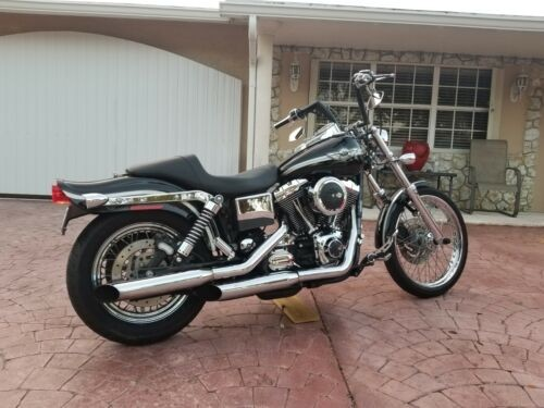2003 Harley-Davidson Dyna Black photo