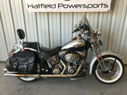 2003 Harley-Davidson Softail Silver photo