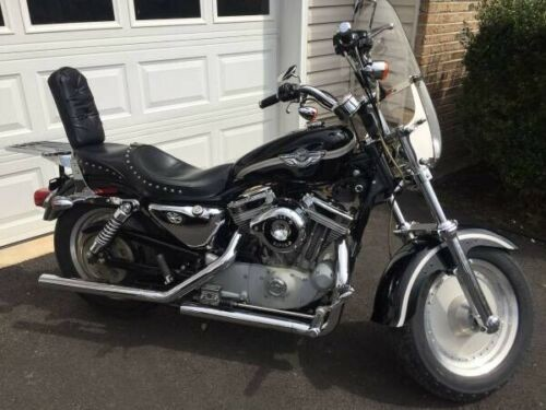 2003 Harley-Davidson Sportster Black photo