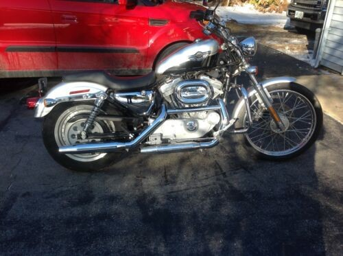 2003 Harley-Davidson Sportster Silver/black photo