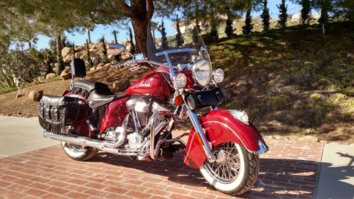 2003 Indian Chief Vintage Red photo